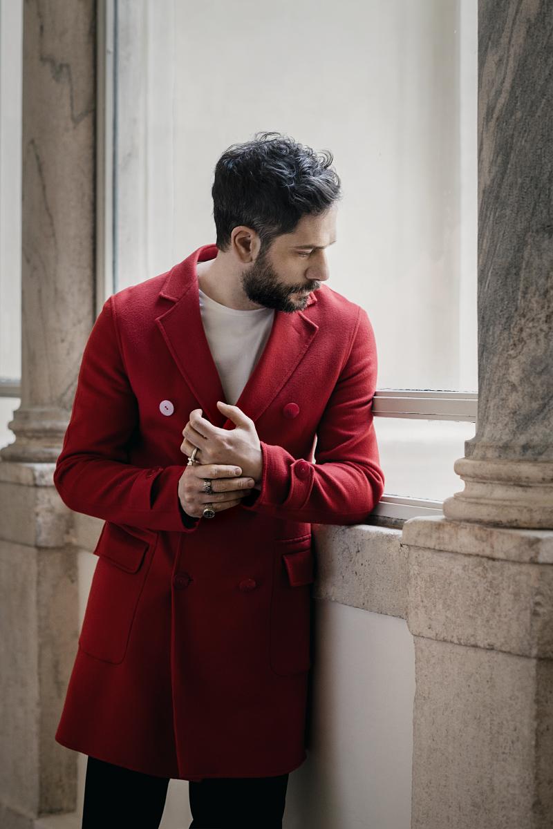 Roma 2017, l'attore e regista Lorenzo Lavia. Rome 2017, italian actor and director Lorenzo Lavia